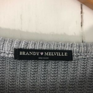 Brandy Melville Sweaters - Brandy Melville • One Size Soft Blue Sweater